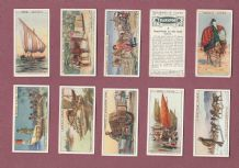 TRADE/ cigarette cards set Transport 1925 by  Cadbury